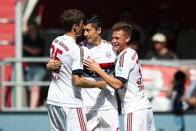 Ingolstadt - Bayern Munich : 1-2