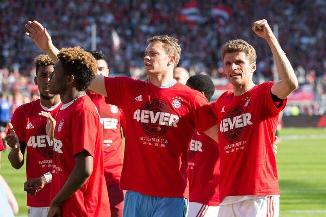 Le Bayern Munich champion d'Allemagne pour la 26e fois !