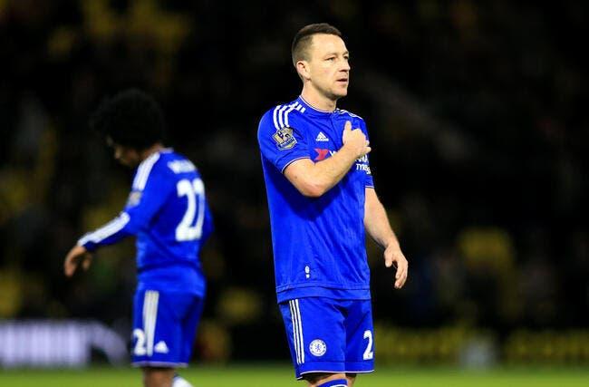 Terry gâche ses adieux avec Chelsea