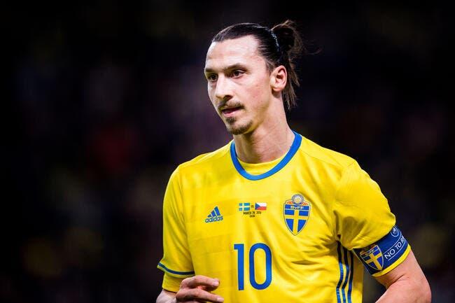 Euro 2016 : Ibrahimovic évidemment dans la liste des 23 de la Suède