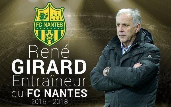 Officiel : René Girard coach du FC Nantes jusqu'en 2018