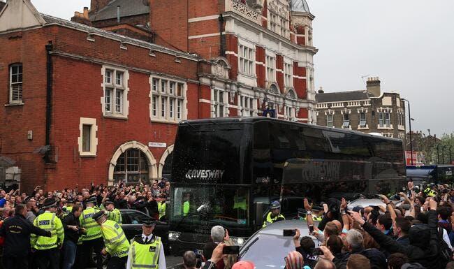 West Ham punira «à vie» ceux qui ont attaqué le bus de Man Utd