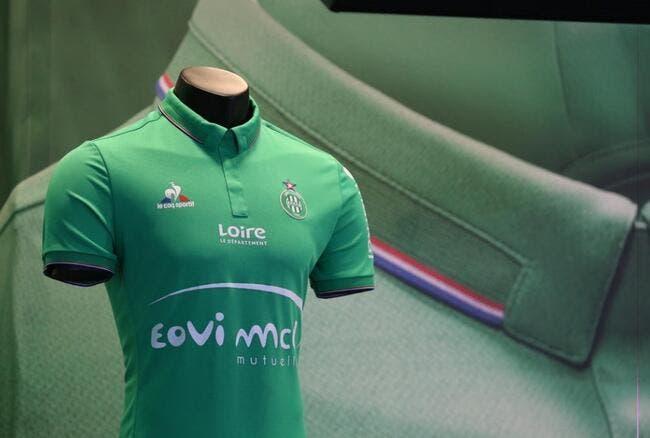 ASSE: Saint-Etienne présente son nouveau maillot