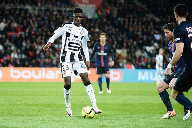 Rennes: Dembélé à Dortmund, c'est «respect »