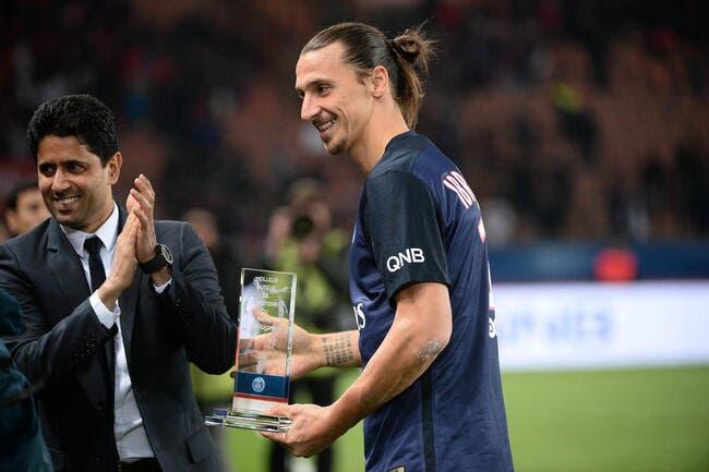 PSG: Al-Khelaïfi rend un énorme hommage à Zlatan