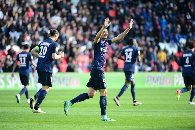 PSG: Enfin débarrassé d'Ibrahimovic, Cavani peut s'installer