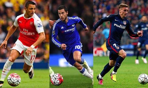 PSG: Griezmann, Hazard, Sanchez, Paris sort l'artillerie lourde au mercato!