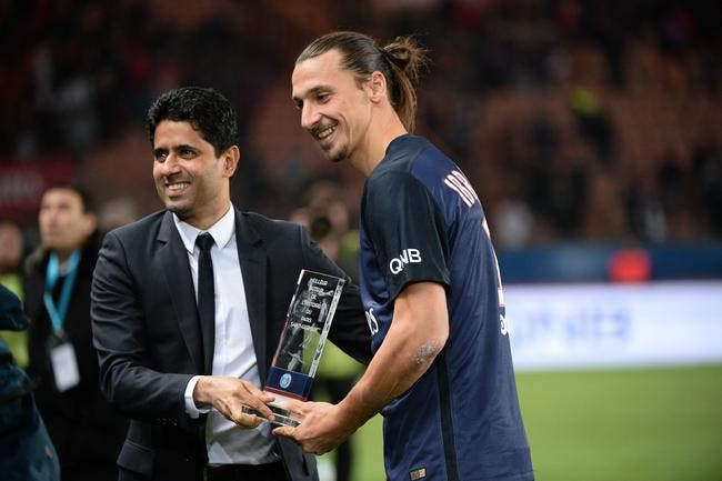 PSG: Ibrahimovic poussé vers la sortie? Al-Khelaïfi répond