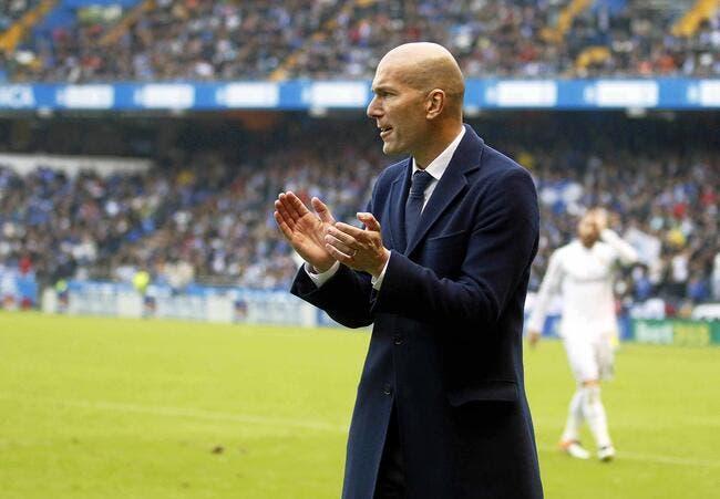Real: «Chapeau», le message de Zidane aux Merengue