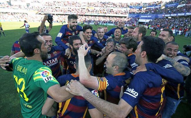 Video : « Campeones ! », le Barça fête son titre en Liga