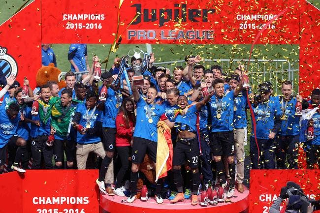 Belgique: Le FC Bruges champion