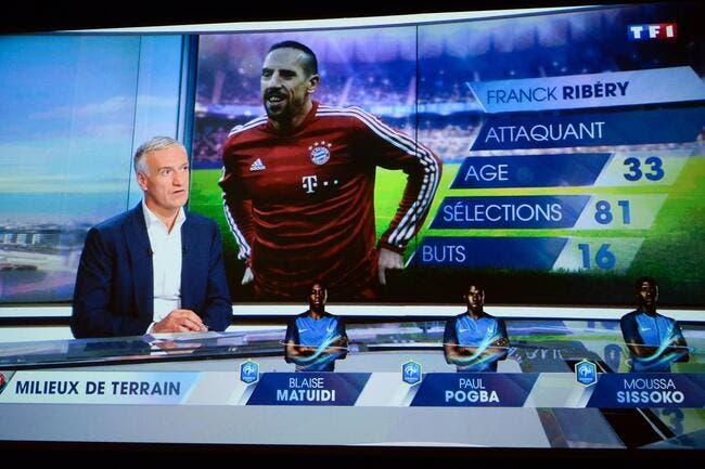 Et maintenant Ribéry « n'a plus aucune envie» de jouer chez les Bleus