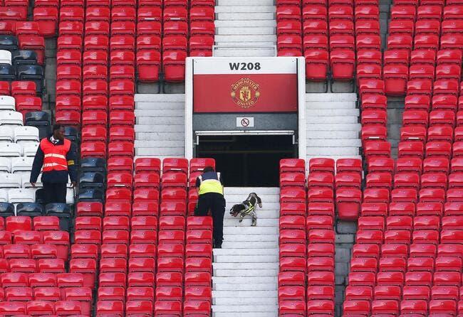 Man Utd-Bournemouth reporté, un paquet suspect retrouvé à Old Trafford !