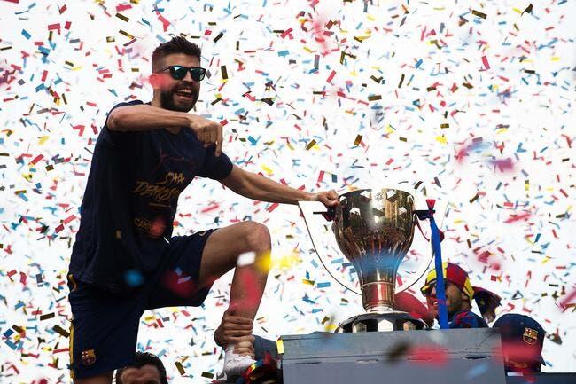 Barça-Real : Cristiano Ronaldo chambré par Piqué en pleine fête !