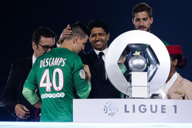 Officiel: Le PSG fait signer Descamps en pro