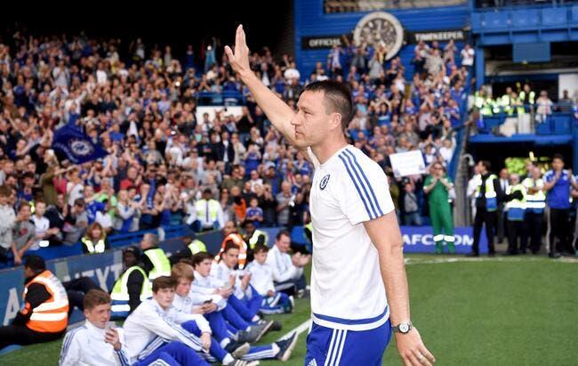 Officiel: Une saison de plus pour Terry à Chelsea!