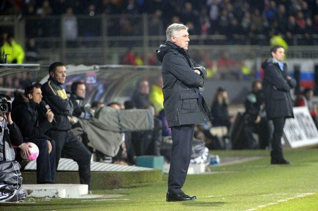OL : Quand Carlo Ancelotti aide Lyon sans le savoir