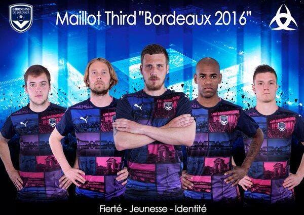 Bordeaux: Le maillot carte-postale fait halluciner Twitter