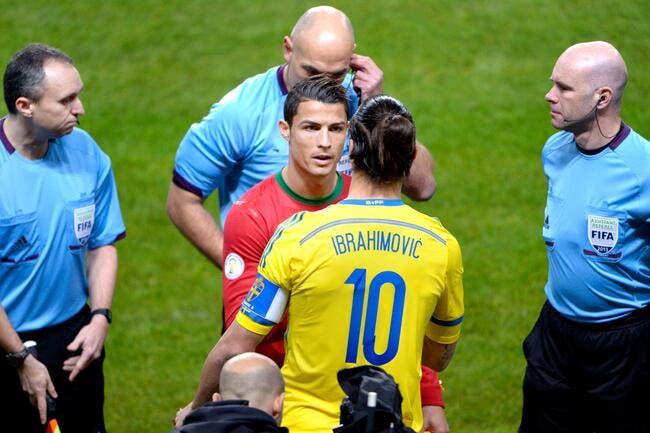 Cristiano Ronaldo et Ibrahimovic se défient pour un record en France