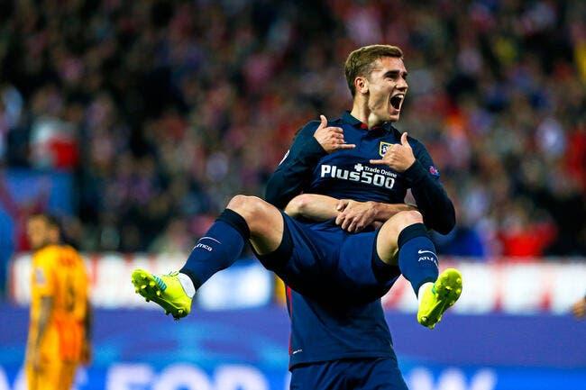 Atlético: Griezmann, Cristiano Ronaldo... C'est du même calibre