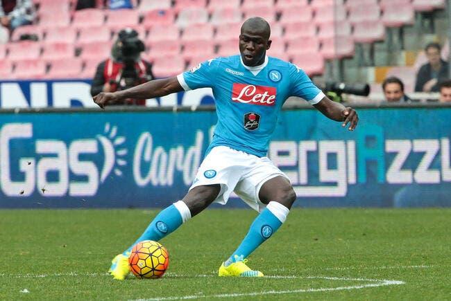 Chelsea offre 25 ME pour Koulibaly