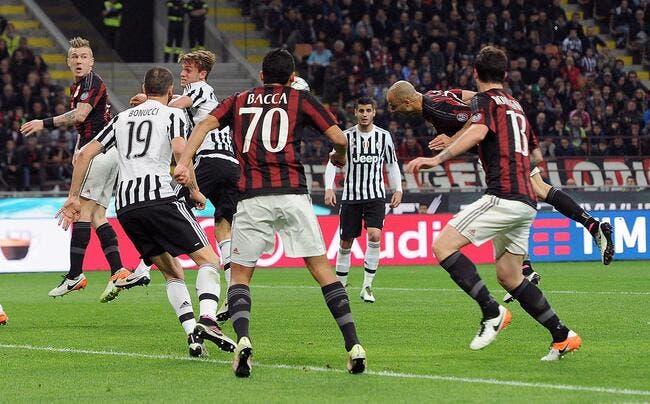 Milan AC - Juventus : les compos (20h45 sur Eurosport 1)