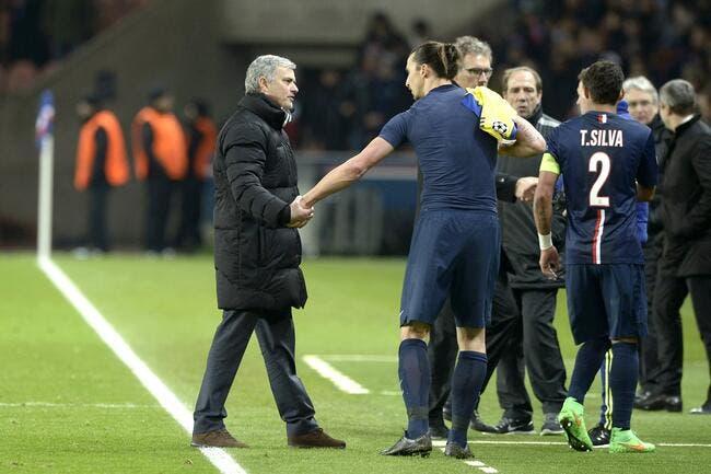 PSG: Ibrahimovic buteur et... entraineur adjoint à Manchester United?