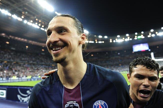 PSG : Ibrahimovic fait une dernière sortie zlatanesque