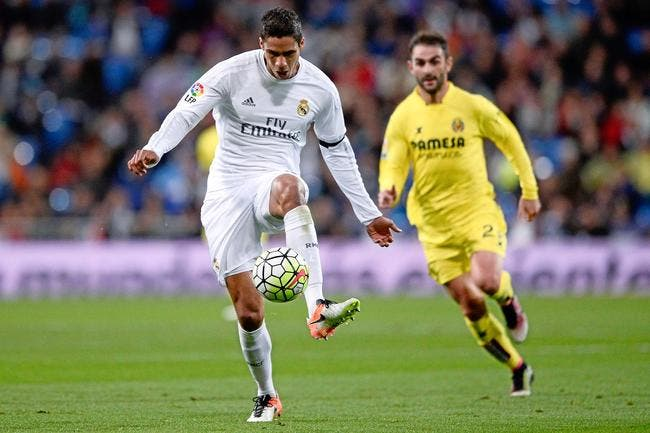 Varane blessé, forfait pour Real-Atlético, et incertain pour l'Euro