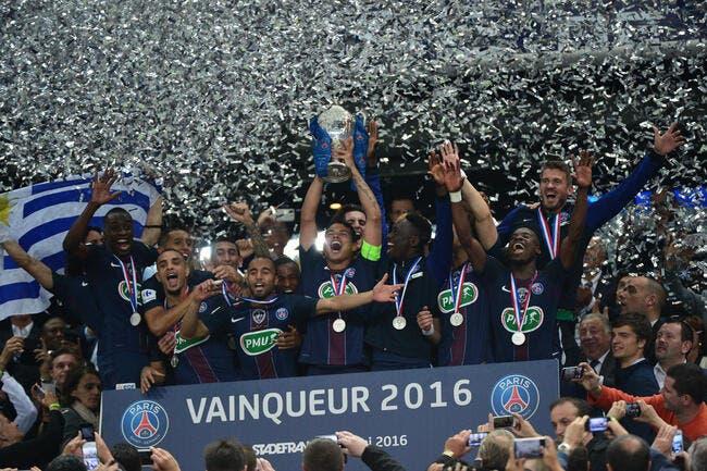 Video : Le PSG soulève son 8e trophée en deux saisons