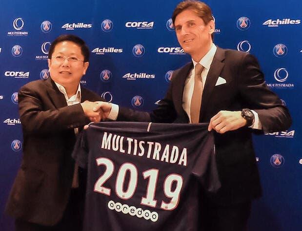 PSG : Un premier sponsor mondial hors Qatar pour le Paris SG !