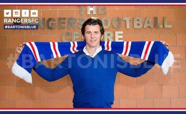 Joey Barton signe chez les Rangers