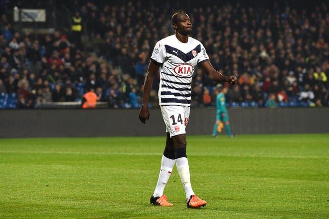Bordeaux: Diabaté discute avec un autre club à contrecœur