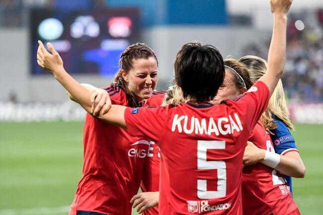 LDC féminine : L'OL fait le bonheur du foot français