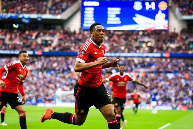 Man United: Deuxième récompense pour Anthony Martial !
