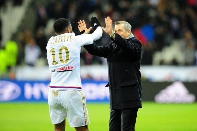 OL : Lacazette sait quel coach peut le faire rester à Lyon