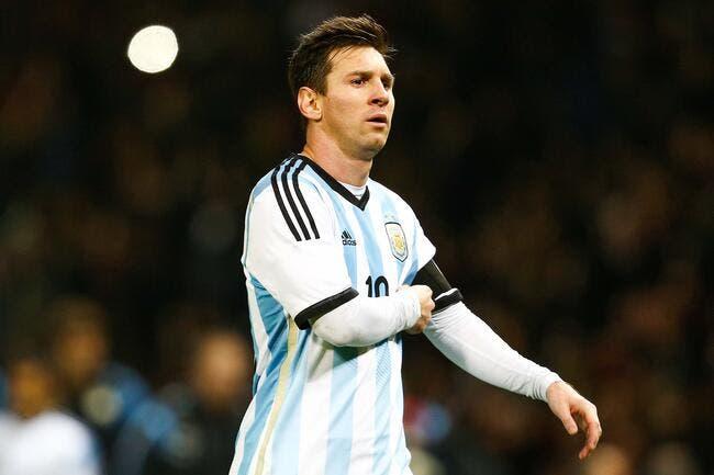 La blessure de Messi inquiète l'Argentine