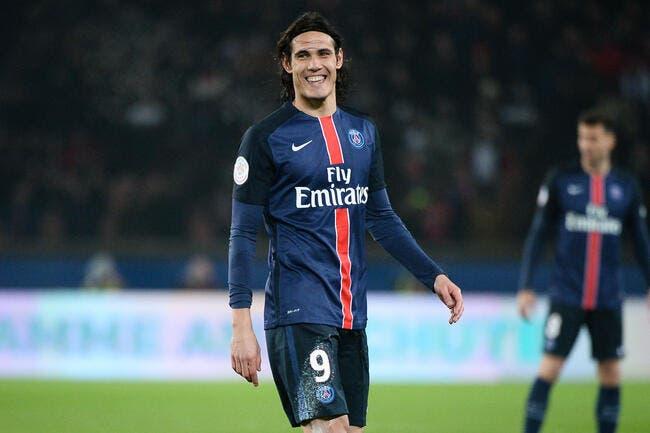 PSG: Paris voit loin avec Cavani, Larqué n'en croit pas ses yeux