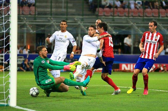 Real Madrid - Atlético de Madrid : 1-1 (5 tab à 3)