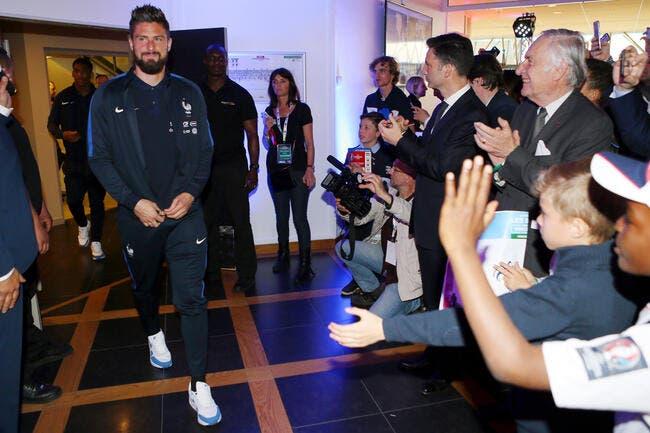 France : Giroud envoie un message aux haters professionnels