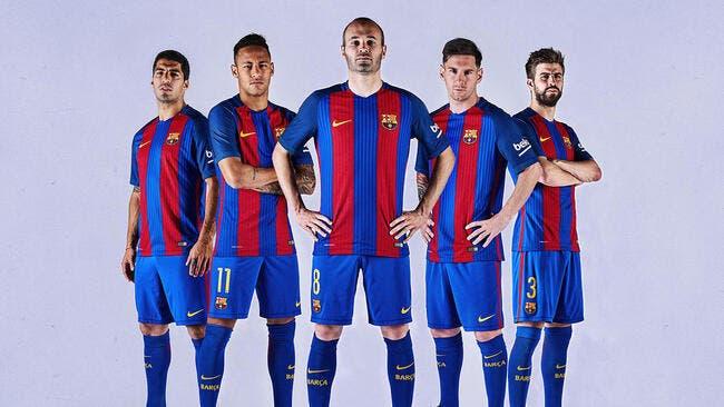 FC Barcelone : Le maillot 2016-2017 dévoilé