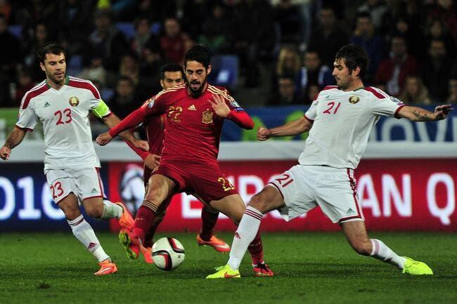 Euro 2016: L'Espagne livre ses 23, sans Isco ni Saul