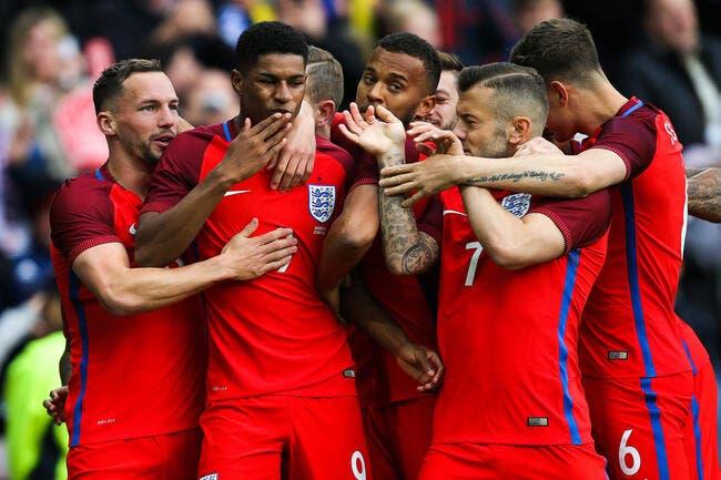 Euro 2016 : La liste des 23 de l'Angleterre avec Rashford