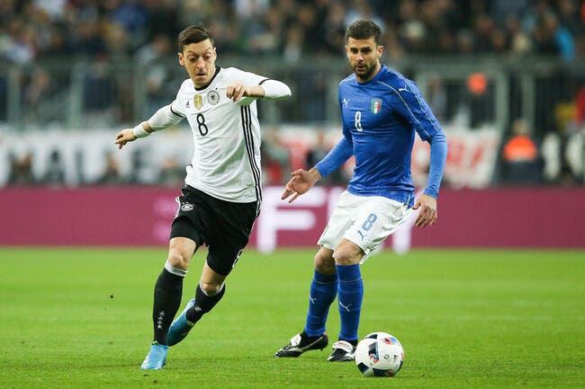 Euro 2016: Les 23 de l'Italie avec Motta et Sirigu