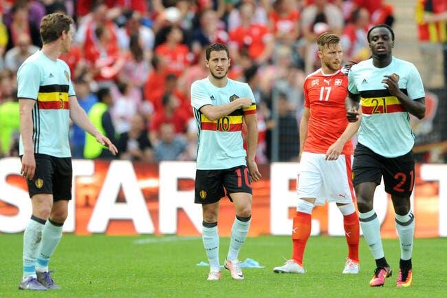 Euro 2016 : Les 23 de la Belgique avec une attaque de feu