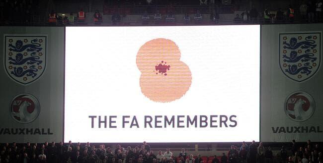 La FIFA refuse le coquelicot, l'Angleterre et l'Ecosse scandalisés