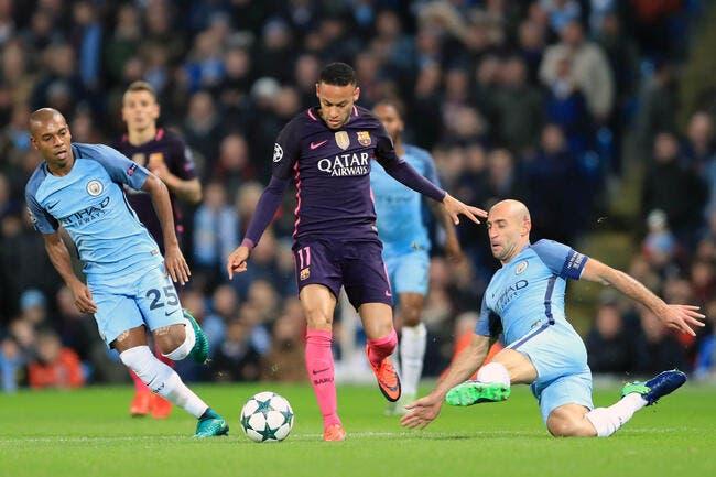 Man City - FC Barcelone : 3-1