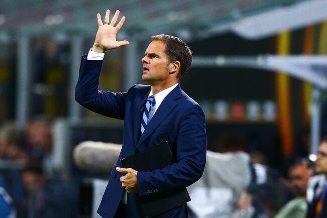 Officiel : Frank de Boer viré de l'Inter Milan !
