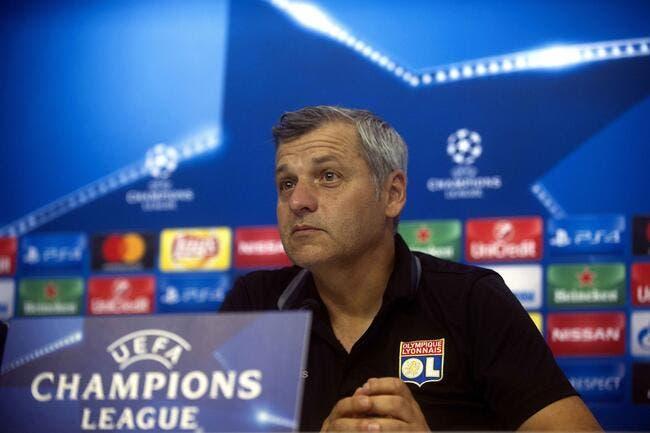 OL : Genesio promet un OL offensif contre la Juventus