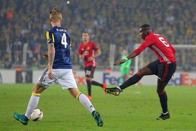 EL : Fenerbahçe - Manchester United : 2-1